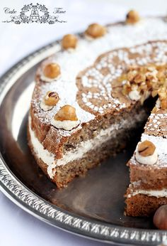 walnut coffee cake. The recipe is in Polish, but you can translate it from Google.