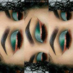 Pinterest @IIIannaIII *Artist Tagged #makeup #makeupartist #makeupgoals - credits to the artist