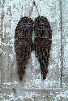 Dekorácie - Anjelské krídla - 6347762_
