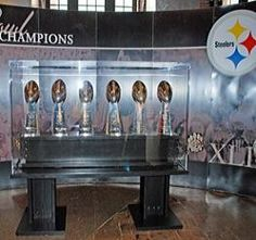 Steelers' Six Super Bowl Trophies Pittsburgh, PA #Kids #Events