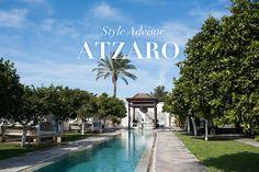 Atzaró, waar je na een relaxed bezoek aan de spa, van een heerlijke natuurlijke driegangen lunch geniet.