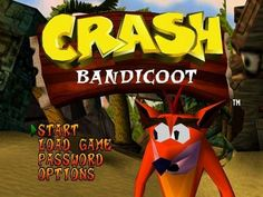 A must have for any 90s kid owning a PS1 .. .Crash Bandicoot
