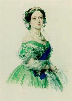 Queen Victoria, when this picture was painted there were no cameras, she lived to see such wonders of technology, I would love to talk to her and hear her thoughts.