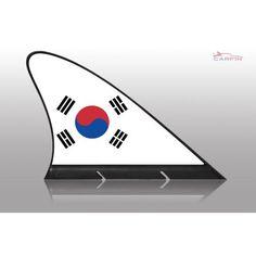 Car flags , Carfin South Korea , Magnetic Flag