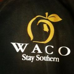 3bc30b8c19b Pick up your Waco  Peach State Pride T-Shirts today at www.gqgifts.com