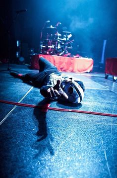 Twenty One Pilots. Their shows are never uneventful and crazy.