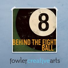 Behind+the+8+Ball+billiards+vintage+style+by+FowlerCreativeArts,+$32.00