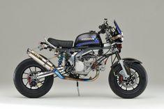 Racing Cafè: Honda Monkey by Gcraft Motorcycle Icon, Tracker Motorcycle, Honda Dax, Monkey 3, Pit Bike, Cafe Racer, Vespa, Motorbikes, Cubs