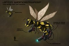 jfgr wonder wasp by greensandsguy.deviantart.com on @deviantART