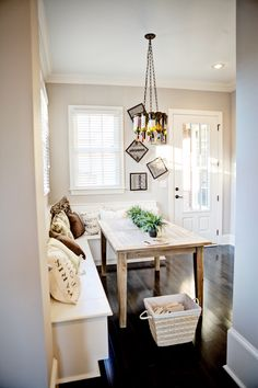 Love this nook. (The whole house is gorgeous!)