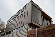 Design Cladding | We install a range of metal cladding systems using Zinc, Copper, Aluminium, Colourbond™ Corten™ and Aluminium composite Panel