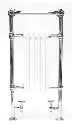 maybe a bit bigger? Traditional Towel Radiator, Bathroom Towel Rails, Radiators, Radiant Heaters, Bathroom Towel Bars
