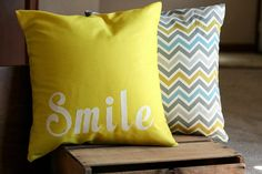 Custom Pillow Covers // The Ruffled Stitch