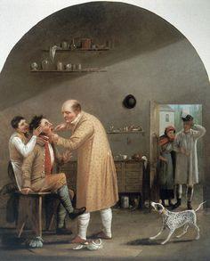 raffigurazioni del dentista - S. Cox - Wellcome Institute a Londra | da drsavinocefola.it