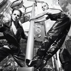 #NYFW we're ready for you. Freja Beha Erichsen and @sashapivovarovareal photographed by @mario_sorrenti styled by #janehow for #V61 September 2009.  via V MAGAZINE OFFICIAL INSTAGRAM - Celebrity  Fashion  Haute Couture  Advertising  Culture  Beauty  Editorial Photography  Magazine Covers  Supermodels  Runway Models
