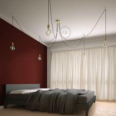 Creative-Cables' Spider is coming back, with more colors and custom options than ever! 🕷 --- 🏷 New Spider suspension lamp, with brass cable and components 🔗 www.creative-cables.com --- #creativecables #becreative #interiordesign #maison #homeideas #homedeco #vintage #lighting #lights #casa #craft #beleuchtung #beautiful #installation #interiorstyling #archdesign #homedesign #interiors #decoration #colors #blogger #vintage #interiorforyou #designlovers #interiorforinspo #vintagelove…