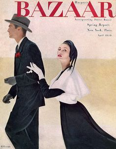 mary jane russell covers harpers bazaar 1949