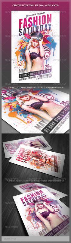 Retro Corporate Flyer Retro, Flyer template and Business flyer - retro flyer templates