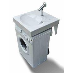 Lavabo gain de place pour machine à laver