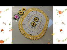 TAPETE OVAL GIRASSOL PRÁTICO - YouTube Youtube, Dream Catcher, Crochet Earrings, Oval Rugs, Washroom, Kitchen, Dreamcatchers, Youtubers, Dream Catchers