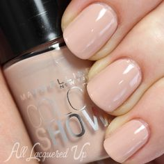 """Maybelline Color Show nail polish in """"Neutral Statement"""" #nails #neutral #ideas"""
