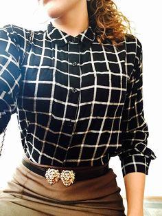 #flannel #pencilskirt #lionbelt #pointytoeshoes #ootd #sunday #churchoutfit #fashion