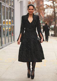 New york fashion week street style jojo pixjojo pix for Fashion museum new york