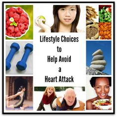 Lifestyle Choices to Help Avoid a Heart Attack – Infographic