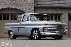 Classic Pickup Trucks, Old Pickup Trucks, Ford Classic Cars, Gm Trucks, Cool Trucks, Lifted Trucks, Small Trucks, Hot Rods, 1966 Chevy Truck