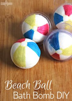 Ball Bath Bomb DIY Beach Ball Bath Bomb Tutorial /// Learn how to make these cute bath fizzies that look just like beach balls!Beach Ball Bath Bomb Tutorial /// Learn how to make these cute bath fizzies that look just like beach balls! Mason Jar Crafts, Mason Jar Diy, Diy Galaxie, Entspannendes Bad, Body Tutorial, Bath Bomb Molds, Diy Hanging Shelves, Bath Bomb Recipes, Bath Fizzies