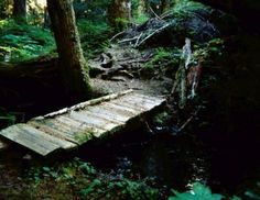 How To Build A Bridge Over A Creek