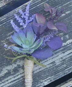 Purple Succulent