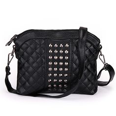 Night out? Take this black messenger bag to dance all night long!