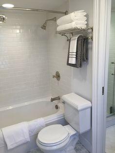 Mercer Train Rack Chrome Marvelous Master Bathroom Pinterest Bathrooms Pottery And Barn