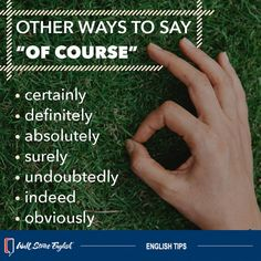 It's useful to know synonyms so you don't have to repeat the same word over and over. English Speaking Skills, Learn English Grammar, English Writing Skills, English Vocabulary Words, Learn English Words, English Idioms, English Phrases, English Language Learning, English Lessons