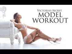 Victoria's Secret Model - Full Cardio Workout (FOLLOW REAL TIME!) - YouTube