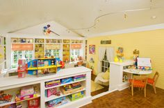 craft room & sun room instead of toy room - Love the concept though, wonderfull idea