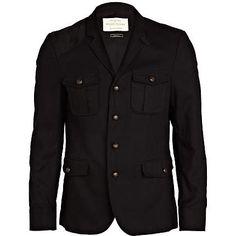 Black pocket blazer - blazers - coats / jackets - men