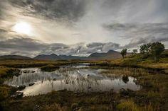 Rannoch Moor , Glencoe
