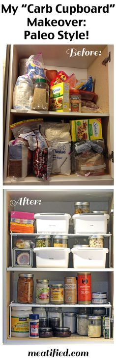 My Paleo Pantry Makeover Part 1: The Baking Cupboard - meatified