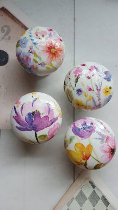 Your place to buy and sell all things handmade Decoupage Drawers, Shabby Chic Drawer Knobs, Draw Knobs, Kitchen Drawing, Vintage Rock, The Draw, Knobs And Handles, Handmade Items, Handmade Gifts