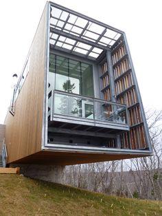 Two Hulls House -Nova Scotia -MacKay-Lyons Sweetapple Architects