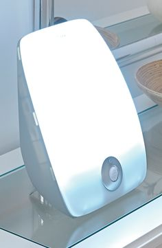 Do you feel the blues during the winter months? The SAD light Pad provides superficial UV light that improves mood and simulates sun light.