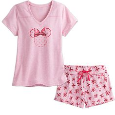 Disney Ladies Pyjamas Set Womens Shorts and Nightie Top 2 Piece Short Pjs for Women Character Stitch Summer Clothes for Women Gifts for Women Teenage Girls