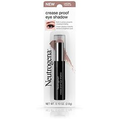 Neutrogena Crease Proof Eye Shadow With Primer, Lasting Taupe 50, .1 Oz. ** Click image to review more details. (This is an affiliate link) #Eyeshadow