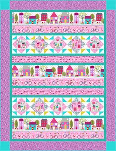 Free Quilt Pattern |Around Town Quilt 2