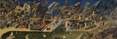 Scènes de la Thébaïde de Fra Angelico (vers 1395-1455)