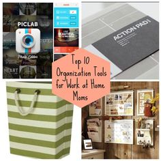 Organizational Tools for Work at Home Moms - from laundry to invoicing!