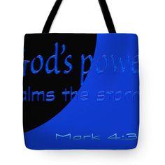 Power Tote Bag by Tina M Wenger