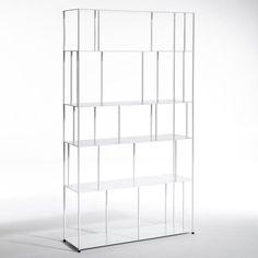 Bibliothèque métal Parallel, grande largeur